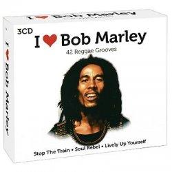 Bob Marley - I Love Bob Marley (42 Reggae Grooves) (3CD Box Set) (2009)
