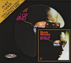 Stevie Wonder - Music Of My Mind (2010 Audio Fidelity 24KT+Gold) (1972)