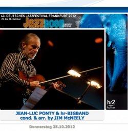 Жанр: Fusion, Orchestral Jazz Год выпуска: 2012