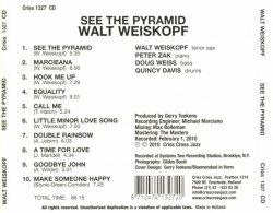 Walt Weiskopf - See The Pyramid (2010) Lossless + MP3