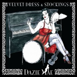Dazie Mae - Velvet Dress & Stockings