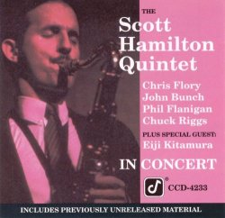 The Scott Hamilton Quintet - In Concert (1990)