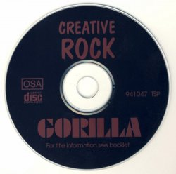 Creative Rock - Gorilla (1972) [Release] (1995) Lossless