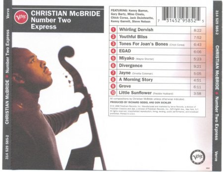 Christian McBride - Number Two Express (1996)Lossless