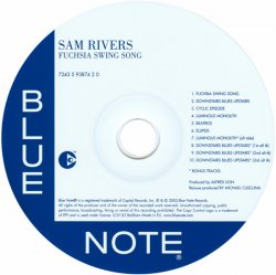 Sam Rivers - Fuchsia Swing Song (1964) (Limited Edition, Remastered 2003)