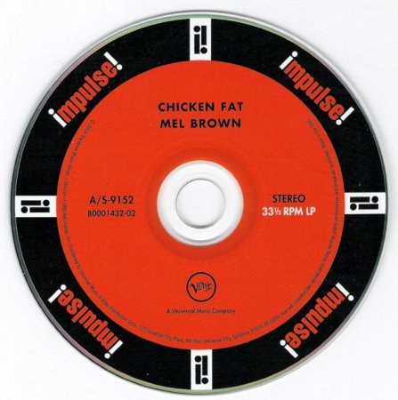 Mel Brown - Chicken Fat (1967) (Remastered, Limited Edition,  2004) Lossless