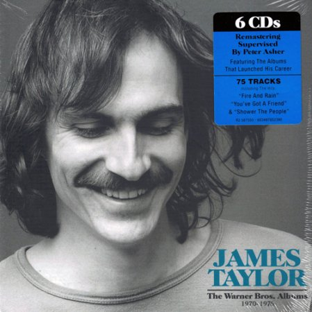 James Taylor - The Warner Bros. Albums: 1970-1976 (2019)