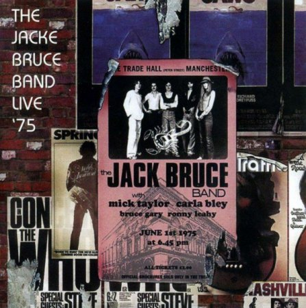 Jack Bruce Band - Live At Manchester Free Trade Hall '75 [2CD] [Remastered] (2003)