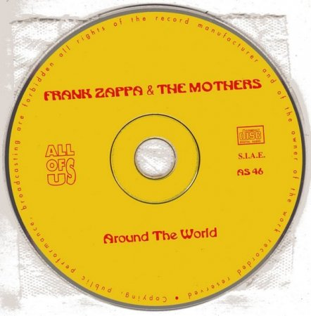Frank Zappa & The Mothers - Around The World (1973) (1994) lossless